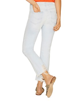 Sanctuary - Connector Kick Flare Jeans in White Sand