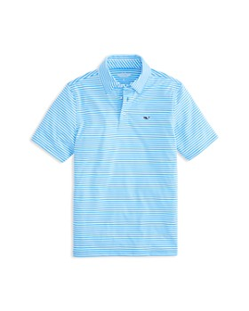 596454919 Vineyard Vines - Boys  Striped Performance Polo - Little Kid