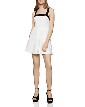 374c08cd3 BCBGENERATION - Pleated Fit-and-Flare Dress ...