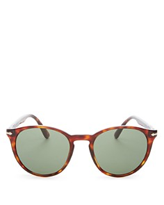 Persol - Men's Round Sunglasses, 52mm