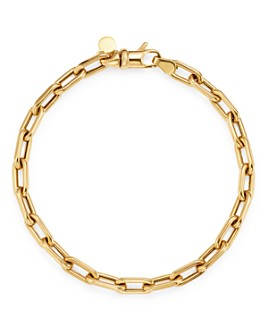 Zoe Lev - 14K Yellow Gold Large Open Link Chain Bracelet