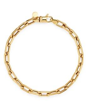 Zoe Lev - 14K Yellow Gold Large Open Link Chain Bracelet