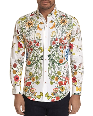 Robert Graham Flourish Floral Classic Fit Shirt