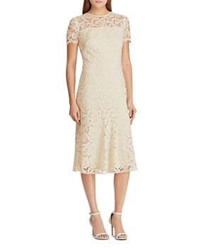 5b3dceb5507 Ralph Lauren - Lace Cocktail Dress ...