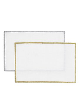 Mode Living - Bel Air Metallic Cocktail Napkins, Set of 4