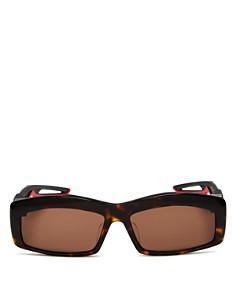 Balenciaga - Women's Rectangular Sunglasses, 59mm