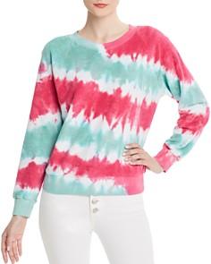 WILDFOX - Fiona Tie-Dye Terry Sweatshirt