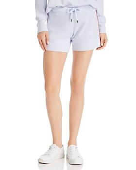 Sundry - Striped-Trim Drawstring Shorts