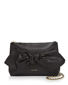 Ted Baker - Darnna Knot Detail Medium Leather Crossbody