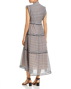 kate spade new york - Gingham Midi Dress