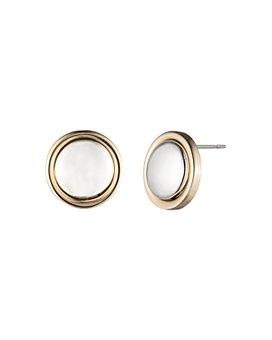 Ralph Lauren - Button Stud Earrings