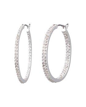Ralph Lauren - Pavé Small Hoop Earrings