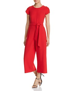 KARL LAGERFELD Paris - Tulip-Sleeve Wide-Leg Jumpsuit