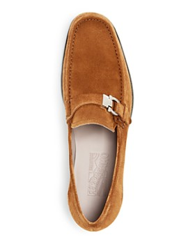 Salvatore Ferragamo - Men's Adam Suede Moc-Toe Loafers