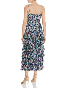 Amur - Viola Pleated Floral Dress