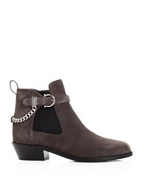 Salvatore Ferragamo - Women's Ardisievit Chain Embellished Ankle Booties