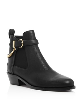 Salvatore Ferragamo - Women's Ardisievit Chain Embellished Ankle Booties