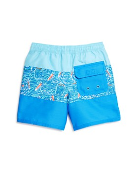Vineyard Vines - Boys' Pelican Striped Chappy Swim Trunks - Little Kid, Big Kid
