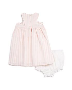 Pippa & Julie - Girls' Stripe Pom-Pom Dress - Baby