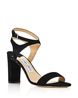 Jimmy Choo - Women's Marine Leather High-Heel Sandals - 100% Exclusive