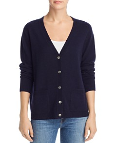 Minnie Rose - Cashmere Anchor Cardigan