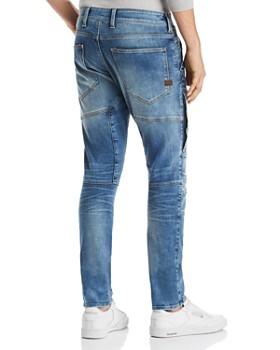 G-STAR RAW - Rackam 3D Skinny Fit Jeans in Faded Medium Aged