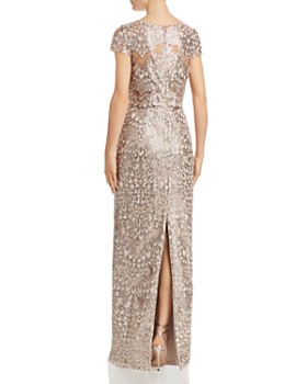 Adrianna Papell - Sequin-Embroidered Gown