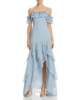Keepsake - Enchanted Cold-Shoulder Gown