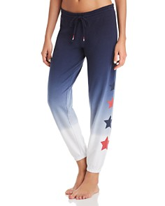PJ Salvage - USA Love Dip-Dye Sweatpants