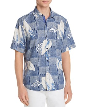 Tommy Bahama - Plaza Palms Short-Sleeve Classic Fit Silk Camp Shirt