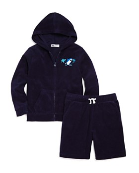 Mini Series - Boys' French Terry Hoodie & Shorts, Little Kid - 100% Exclusive
