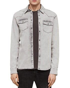 ALLSAINTS - Gilard Denim Regular Fit Shirt