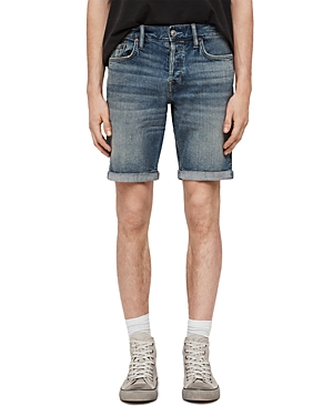 Allsaints Switch Denim Regular Fit Shorts