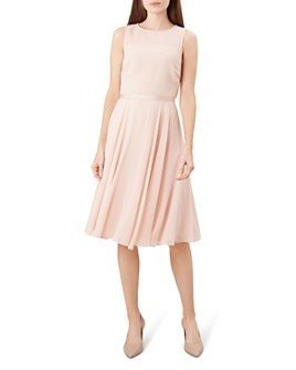 HOBBS LONDON - Abigale Fit-and-Flare Dress