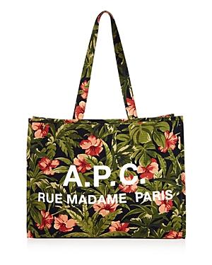 A.p.c. Cabas Mahe Print Tote Bag
