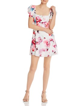 Fame and Partners - Lourdes Floral Mini Dress