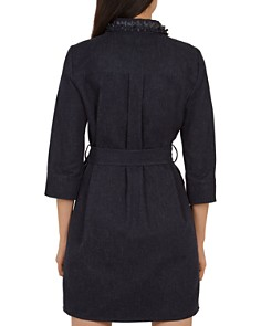 Ted Baker - Salat Embellished-Collar Denim Dress