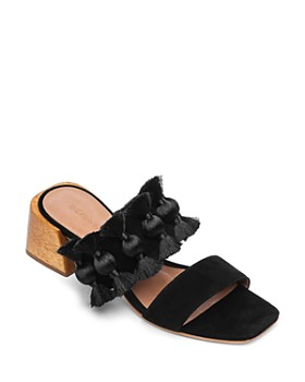 Bernardo - Women's Bella Tassel Block-Heel Sandals