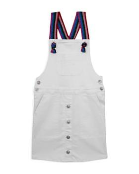 Hudson - Girls' Donna Rainbow-Strap Denim Overalls Dress - Big Kid