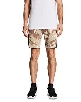 NXP - Hawkeye Camouflage-Print Skinny Fit Tech Shorts