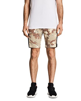 NXP - Hawkeye Camouflage-Print Skinny Fit Tech Shorts