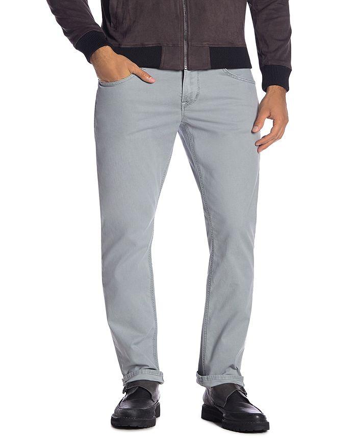 Hudson - Blake Slim Fit Jeans in Steel Blue