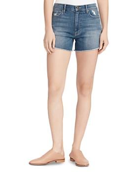 Ella Moss - Vintage High-Rise Shorts in Chesnut