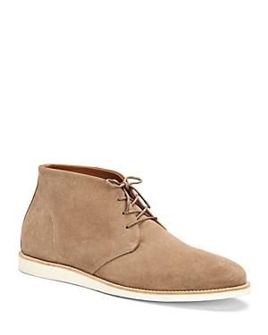 Aquatalia Boots MEN'S TREY SUEDE CHUKKA BOOTS