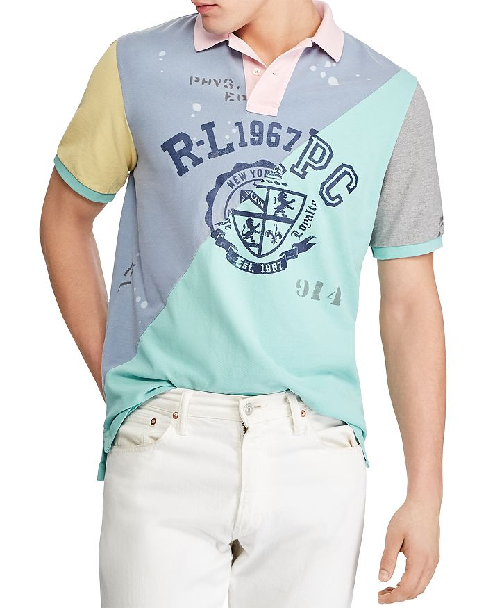 Polo Ralph Lauren - Patchwork Mesh Classic Fit Polo Shirt