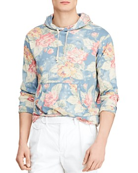 Polo Ralph Lauren - Floral-Print French Terry Hooded Sweatshirt