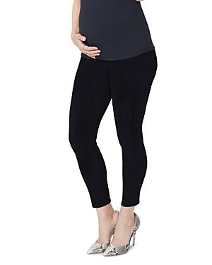 Nydj Skinny Maternity Ankle Jeans in Black