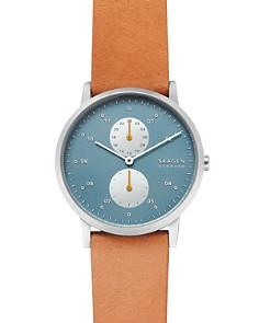 Skagen - Kristoffer Tan Leather Strap Watch, 42mm
