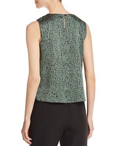 Eileen Fisher Petites - Printed Sleeveless Top