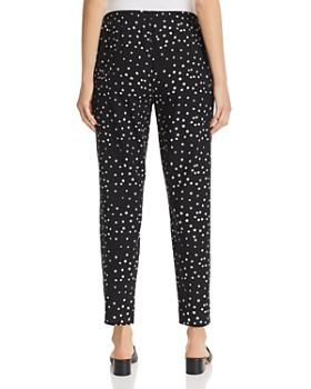 Eileen Fisher - Organic Cotton Dot-Print Pants